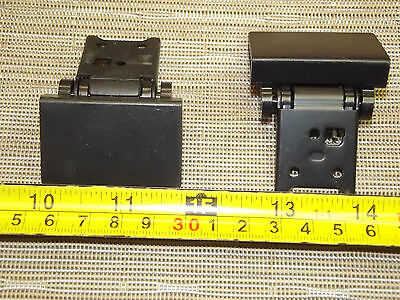 Pair of vintage Turntable lid Hinges