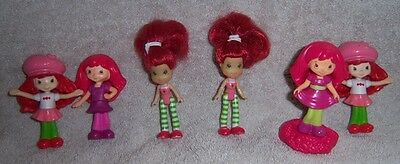 Strawberry Shortcake Set of 6 Figures/Cake Toppers