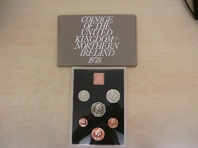 1978 Coinage Of Great Britain & Northern Ireland  6 Coin Proof Set
