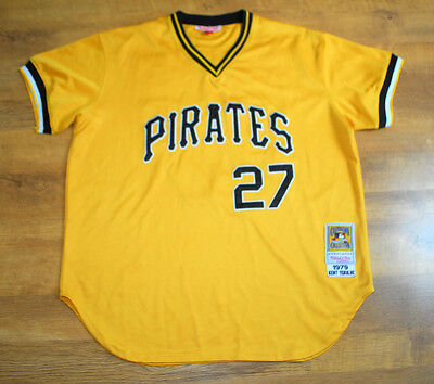 Mitchell & Ness 'Tekulve' Pittsburgh Pirates Basebal Jersey 1979 (Size 54/2XL)
