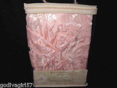 Jessica McClintock Blushberry Dream * BABY GIRL ROOM WINDOW VALANCE * Pink, New!