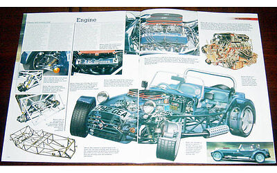 Westfield SEiGHT Fold-out Poster + Cutaway drawing