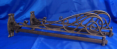 Vtg Pair of Metal Wall Mount Swing Arm Brackets