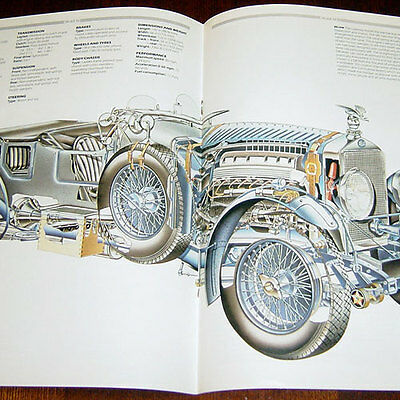 Delage D8 - technical cutaway drawing