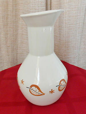 Purinton Pottery Autumn Leaves Bulbous Pitcher Carafe
