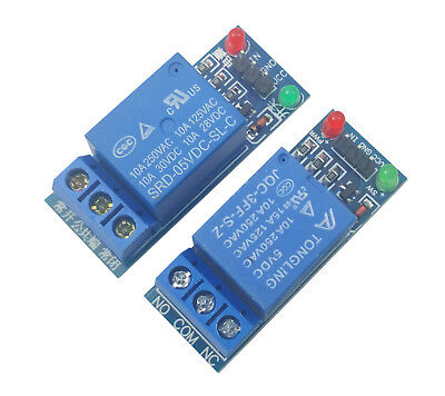 2pcs 5V Single 1 Channel Relay Module Board Shield For Arduino Raspberry PI USA
