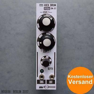 ANALOG KICK DRUM MODULE - Orpho Modular OM-01 for EURORACK, Doepfer compatible