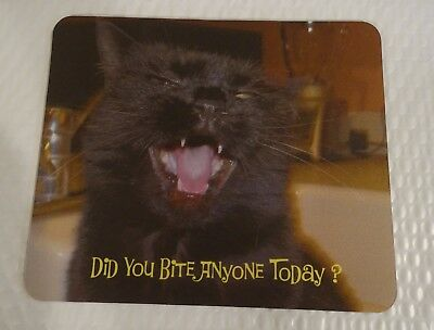 """Scoot & Newts Present the """" Did You Bite Anyone Today ?""""  Mousepad"""