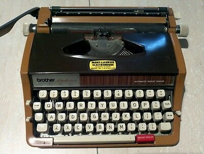 brother  activater  899  MANUAL  TYPEWRITER