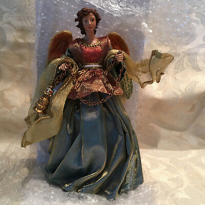 Decorative Angel Kirkland Signature Christmas Decoration Angel w/Lantern NIB