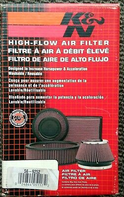 K&N 56-9252 Custom Racing Air Filter Assembly - NOS boxed - save ££s - universal