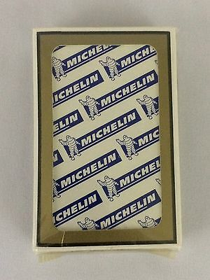 Vintage Michelin Tires Playing Cards Michelin Man Gemaco Car Collectible Sealed