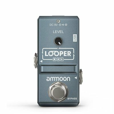 ammoon AP-09 Nano Loop Electric Guitar Effect Pedal Looper True Bypass