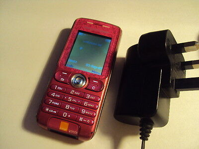 Easy Pensioner  Kids Disable Cheap Sony Ericsson W200I Unlocked+Charger