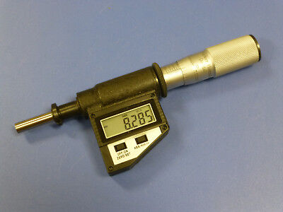 Parker Hannifin Daedal Digital Micrometer Head with LCD Display, 25mm