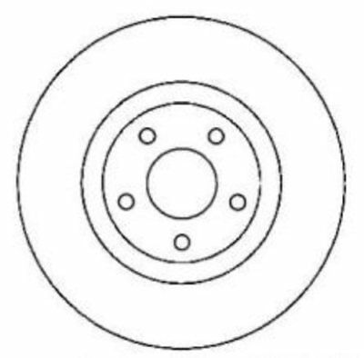 Centric Parts 120.62085 Premium Brake Rotor with E-Coating - NEW - FREE SHIPPING