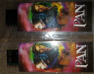 PAN  movie film cells with COA  -disney-
