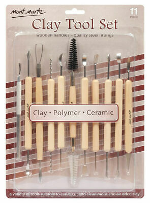 Mont Marte Clay Tool Set 11pce