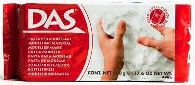 DAS Air Hardening Modelling Clay 500g - White