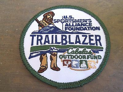 U.S. Sportsmen's Alliance Foundation Trailblazer Cabela's Outdoor Fund Patch