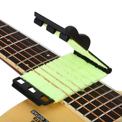 Durable Guitar Stringed Instrument String Scrubber Fingerboard Cleaner Tool