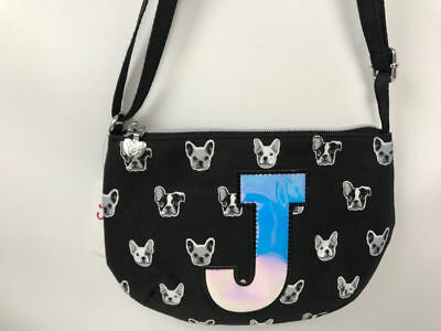 """Justice for Girls Puppy Purse~ Initial """"J"""" NWT!"""