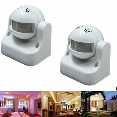 2X Waterproof PIR Motion Sensor Switch for Outdoor Security Lights / Floodlights