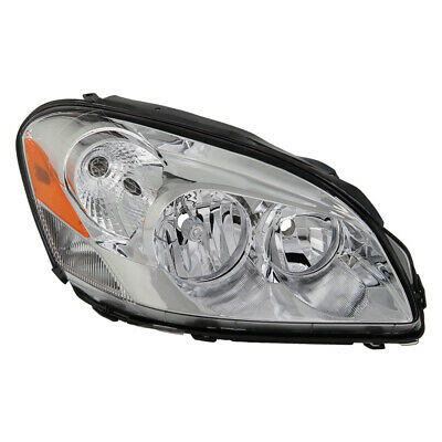 Buick 06-11 Lucerne CXS CXL Chrome Replacement Headlight Passenger / Right Side