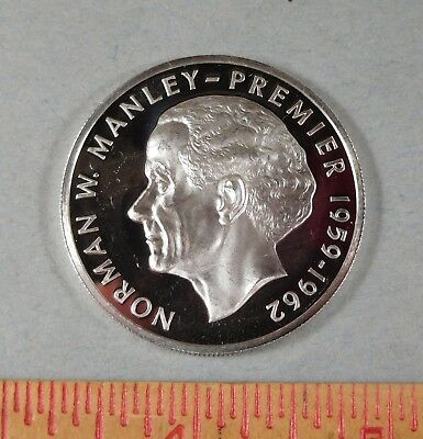 1974 JAMAICA 5 DOLLAR COIN  - PROOF - Norman W Manley