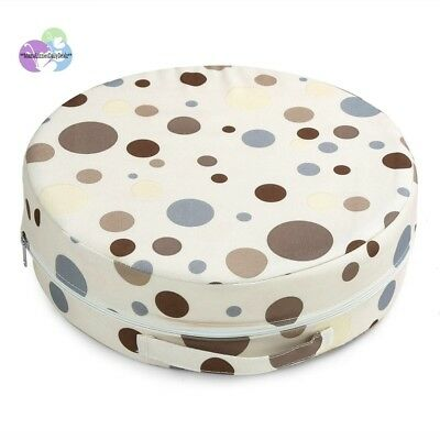 Zicac Toddler Infant Portable Round Heighten Pad Dots High Chair Seat Dining Cha