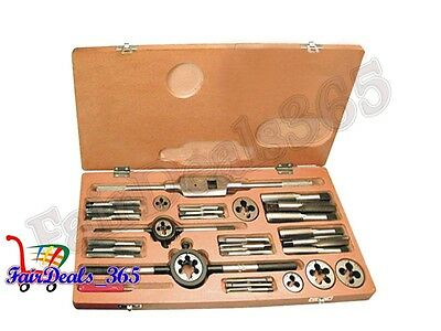 Heavy Duty Metric Tap And Die Set 02Mm To 10Mm- Boxed Complete Metric Brand New