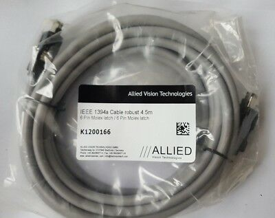 ALLIED VISION K1200166 Fire Wire Cable IEEE 1394A 4.5M (TROLLEY E.1B1)