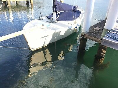 21ft Timber Couta Motor Sailer,15hp Yanmar Diesel