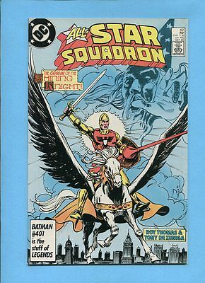 All-Star Squadron #62 Shining Knight JSA DC Comics October 1986 VF/NM
