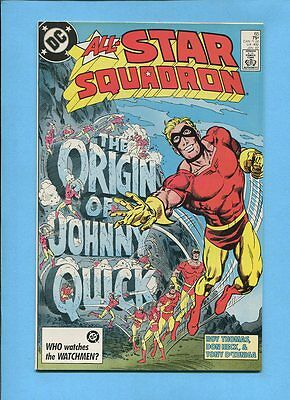 All-Star Squadron #65 Origin Johnny Quick DC Comics January 1987 VF/NM