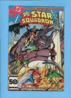All-Star Squadron #54 JSA DC Comics February 1986 Crisis Crossover VF/NM