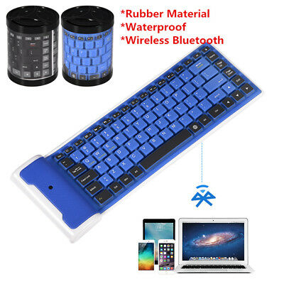 Portable Mini Bluetooth Foldable Wireless Keyboard For Phone Tablet Laptop PC BT