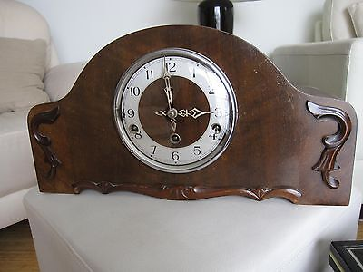 ENFIELD Antique Mantle Clock -  Made in England Working Condition