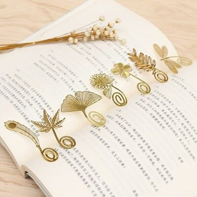 4PCS Cute Bookmark butterfly Style Teacher's Gift Book Marker Stationery VC