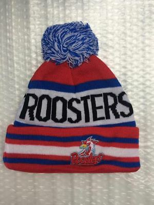 Sydney City Roosters nrl beanie hat rugby league