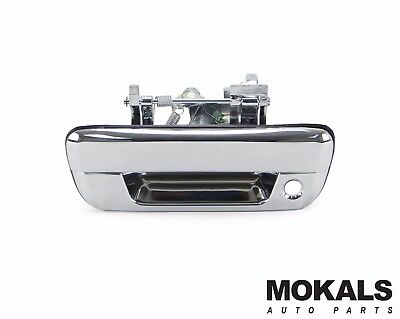 holden rodeo ute RA tailgate handle (chrome with lock hole )2003-2008