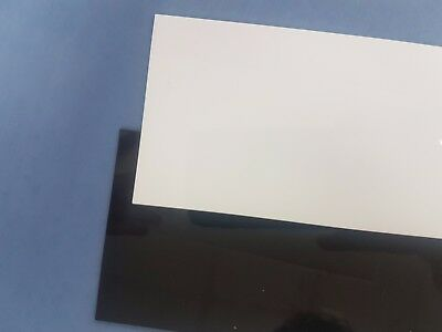 HIPS (High Impact Polystyrene) Gloss 1 Side Sheet {Many Sizes To Choose}