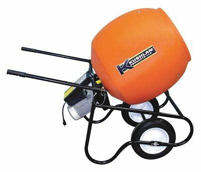 Kushlan Products Wheelbarrow Mixer, 6 cu ft, 115V, 3/4HP 6 cu. ft.   600DD