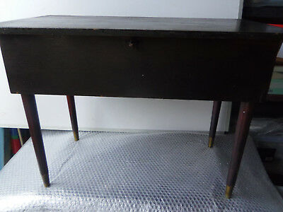 1930s Vintage sewing table - in unrestored condition.