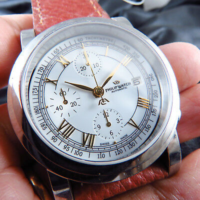 New Swiss Made Philip Watch 7750 Chronograph Auto Men Watch Parts(No Movement)