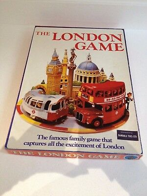 The London Game - Original Board Game 1972 Complete - London Underground Tube