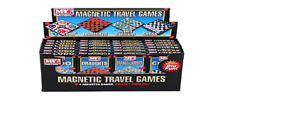 MY Magnetic Pocket Mini Travel Board Games Snakes&Ladders, Ludo, Chess, Draughts
