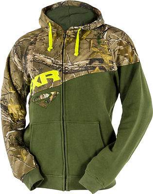 Fxr Triumph Olive/ Realtree Xtra Zip Fleece Hoodie Sweatshirt -M-L-Xl-2Xl -New