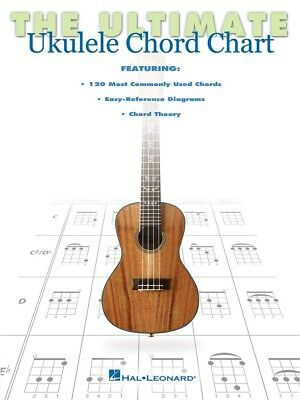 The Ultimate Ukulele Chord Chart. Book