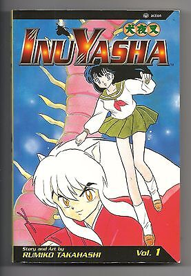 InuYasha Vol. 1 by Rumiko Takahashi ISBN  1-56931-947-2 PAPERBACK 2003 183 pages